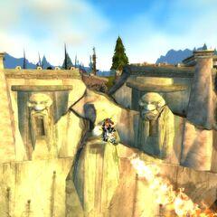 Разрушенная Каменная Плотина