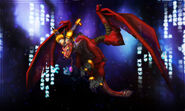 Alexstrasza and The Nexus by Cru the Dwarf