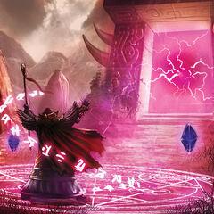 Медив открывает Темный Портал.