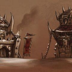 Orc buildings.