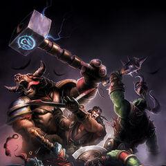 Ло'Гош сражается о Ордой.
