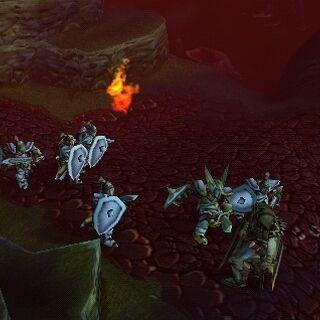 Смерть Медива в <i>Warcraft III: Reign of Chaos</i>.
