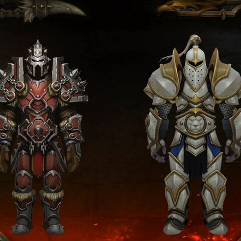 Warfront zbroja set 1