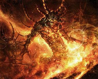 Огненные Недра консоль Люцифрон