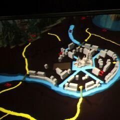Model miasta prezentowany na BlizzConie 09