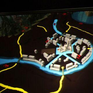 Модель Города Гилнеаса на Blizzcon - 09