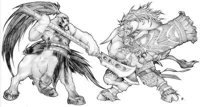 Tauren vs Centaur