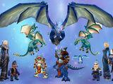 Род синих драконов