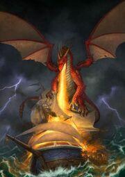 Dragon vs third fleet