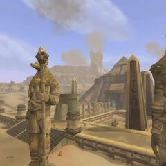 W Uldum znajduje się więcej posągów niż w Stormwind...