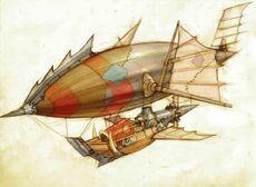 Zeppelin art