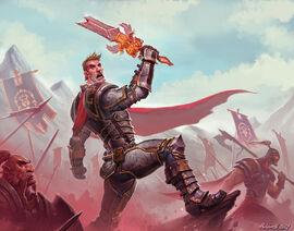Turalyon wiedzie Przymierze do zwycięstwa pod Czarną Górą