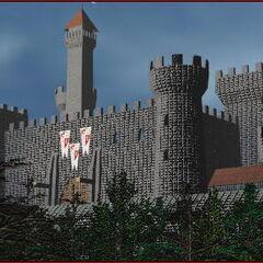 Крепость Штормграда до разрушения в период Первой Войны.