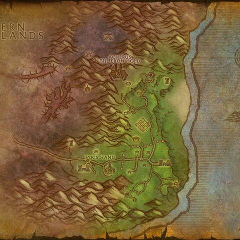 Mapa Szkarłatnej Enklawy