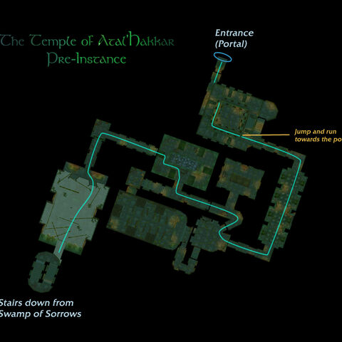 Карта, с помощью которой можно добраться до подземелья.