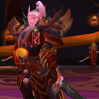 Drugi model Lor'themara, przed otrzymaniem opaski na oko.