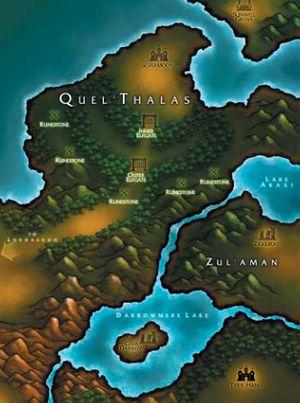 300px-Warcraft III Map - Quel'Thalas & Zul'Aman
