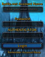 Authenticator Frame