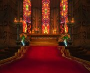 Gilnean altar
