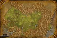 Carte Hautes-terres Arathies Battle for Azeroth