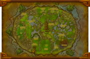 Wandering Isle map BlizzCon2011