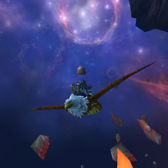 Flying into Deepholm