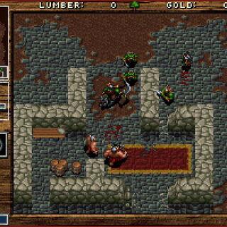 Zrzut ekranu z kampaniii orków