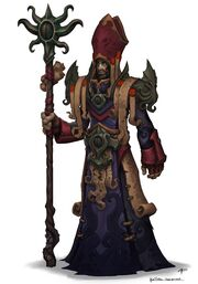 High sea priest concept