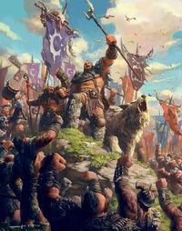 Les clans orcs de rassemblent pour la guerre