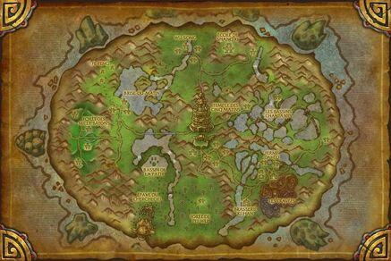 Carte de l'Île Vagabonde
