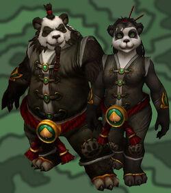 Pandarens playable