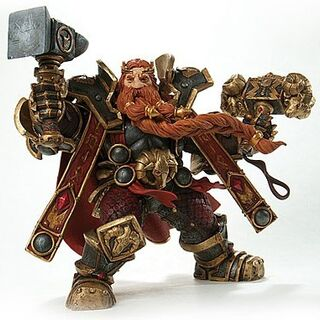 The Magni Bronzebeard action figure.