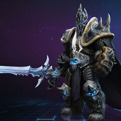 Arthas w Heroes of the Storm