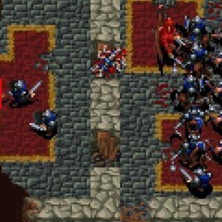 Смерть Медива в <i>Warcraft: Orcs & Humans</i>.
