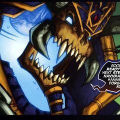 Кел'Тузад в комиксе <i>Ashbringer</i>.