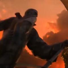 Pomnik Khadgara w filmie wprowadzającym do <i><a href=