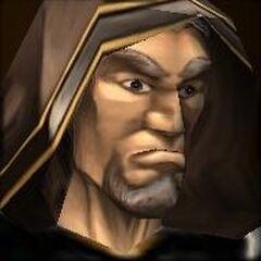 Лицо Медива в <i>Warcraft III</i>.
