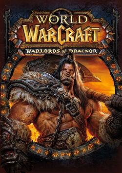 World of Warcraft Warlords of Draenor Cover Art