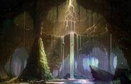 Cavernes des Lamentations (fan art)