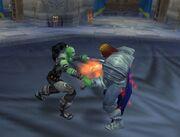 Garona stabs King Llane