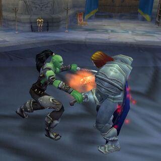 Zabójstwo króla Llane'a widziane w wizji Yogg-Sarona