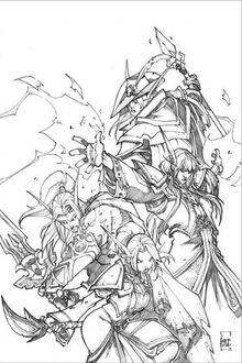 Lorthemar, Liadrin, Galell, Darkhan