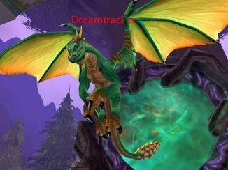 Drachen grün