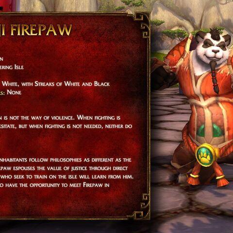 Informacje o <b>Ji Firepaw</b>.