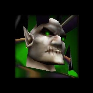 Мал'Ганис в <i>Warcraft III: Reign of Chaos</i>.