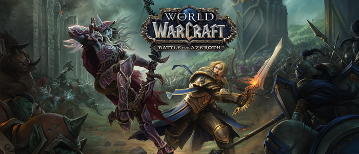 World of Warcraft Battle for Azeroth (слайдер)