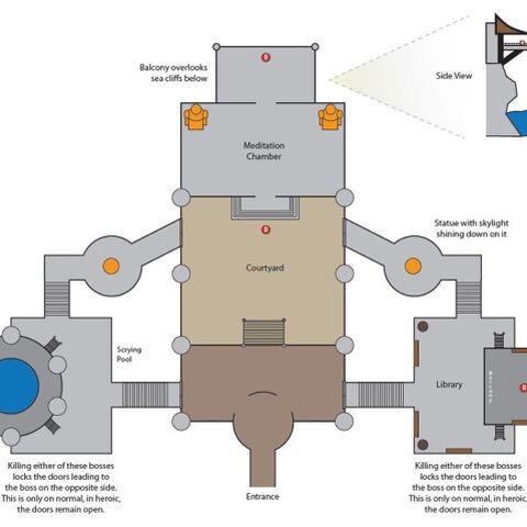 Карта Храма Нефритовой Змеи