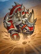 Akali, le rhinocéros Hearthstone