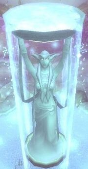 187px-Elune Statue Top View WoW Godddess