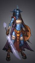 Draenei female uncorrupted